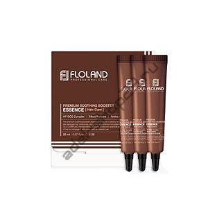 Premium Soothing Booster Essence от Floland (20мл) - Успокаивающая маска-эссенция для поврежденных волос