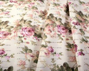 Арбен, ARCADIA Флористический принт велюровой ткани, 3 цвета