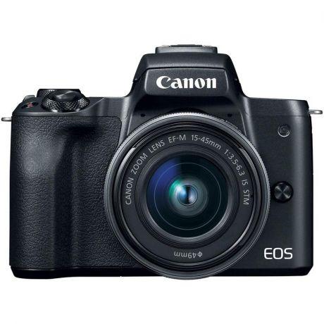 Фотоаппарат со сменной оптикой Canon EOS M50 Kit 15-45 IS STM