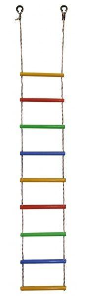 Лестница веревочная радуга