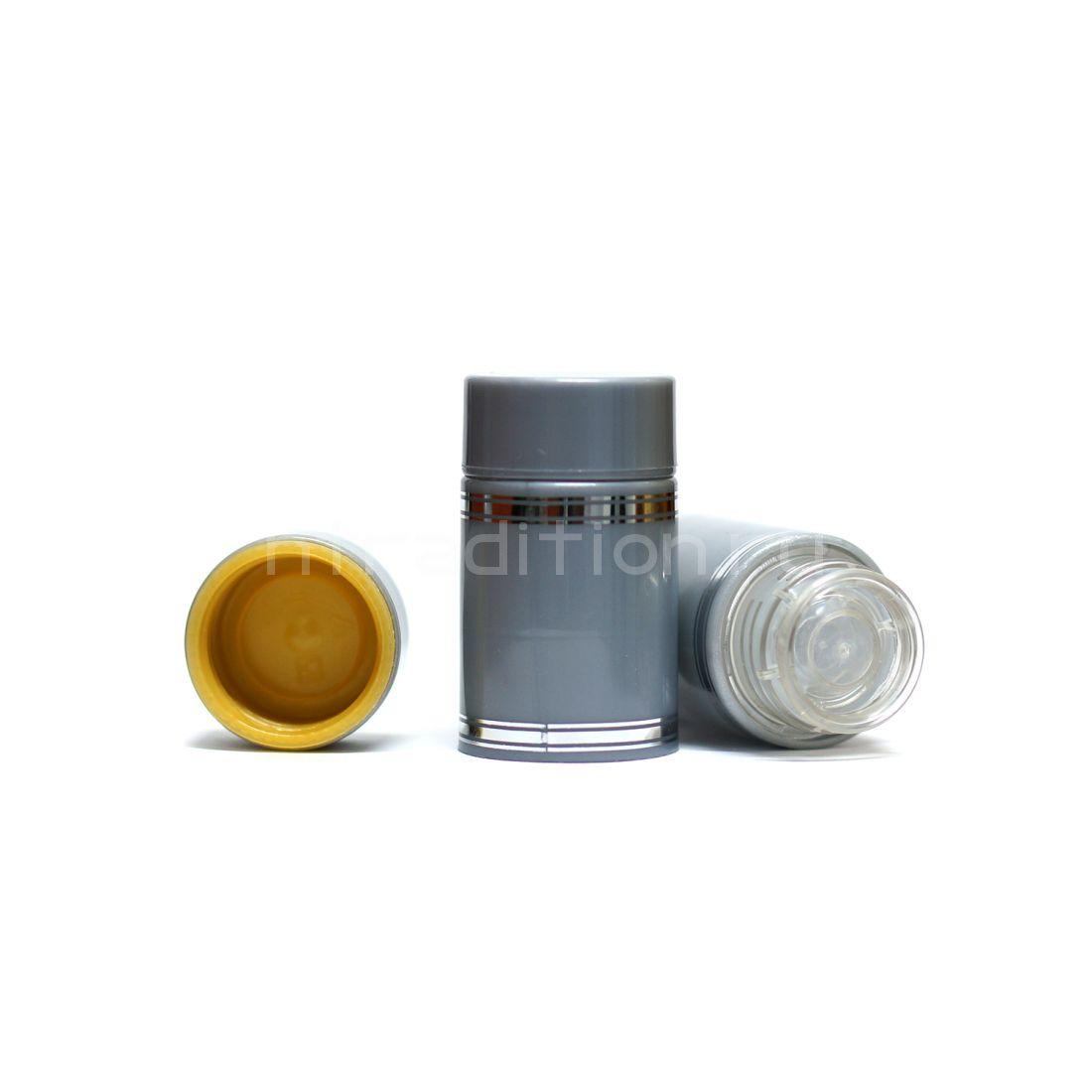 Полимерный колпачок с дозатором серый (Гуала 58 мм) / 10 шт