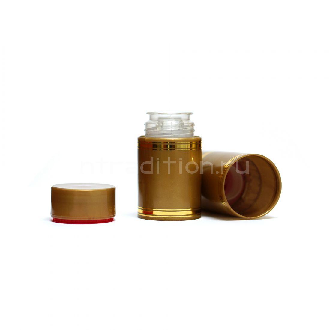 Полимерный колпачок с дозатором золото (Гуала 58 мм) / 10 шт