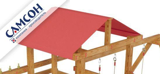 Крыша из ткани для ДИП Ассоль