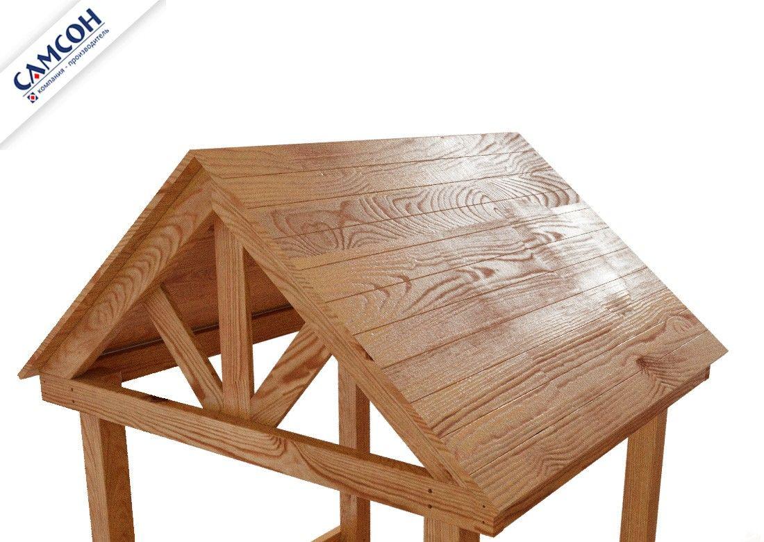 Крыши деревянные для ДИП САМСОН