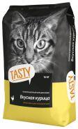 Tasty корм для кошек Курица 10кг