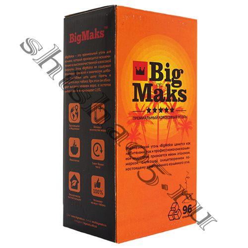 Уголь BIG MAKS - 22мм³ (96куб)