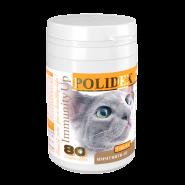 POLIDEX Immunity Up витамины для кошек (80 таб)