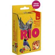 Рио Лакомство Бисквиты для птиц с лесными ягодами (5х7г)