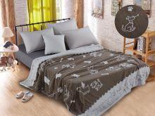 Плед  велсофт FLUFFY 2-спальный 180*200 Арт.180/008-SH