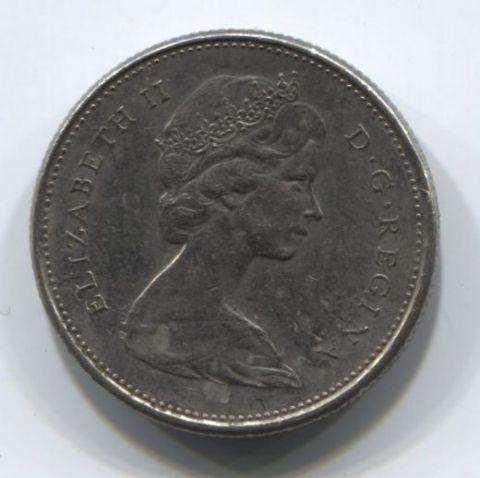 25 центов 1978 года Канада VF