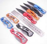 Нож складной KN-02 (с карабином цветные)