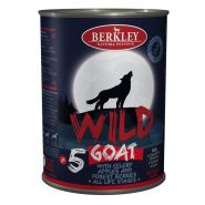 Berkley Adult Dog Wild №5 Консерва для взрослых собак с мясом козы, сельдереем, яблоками и лесными ягодами - 400 г