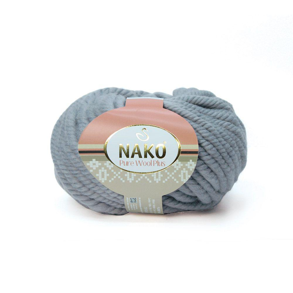 Pure wool plus 11478 серый