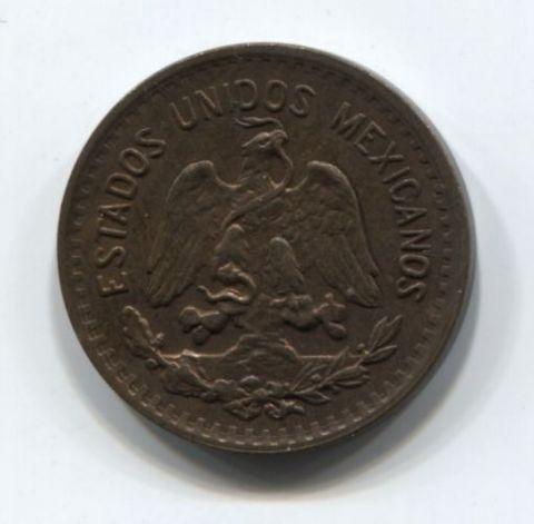 1 сентаво 1935 года Мексика AUNC