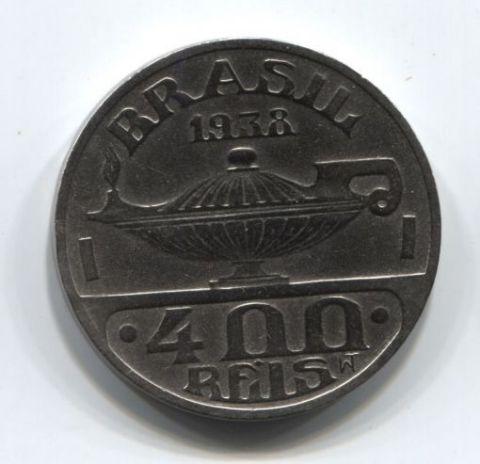 400 рейс 1938 года Бразилия XF+
