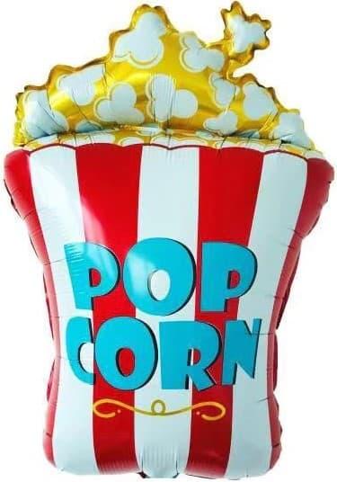 Попкорн шар фольгированный с гелием