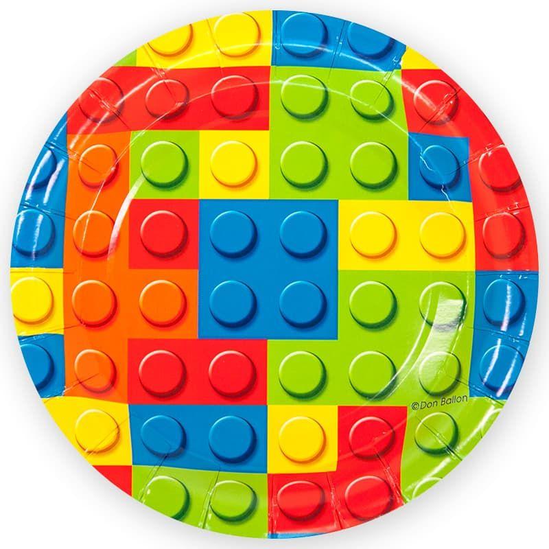 Тарелки Лего