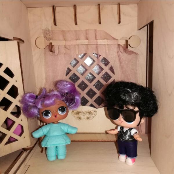 """Гостиная для кукольного домика """"Дом принцессы"""""""