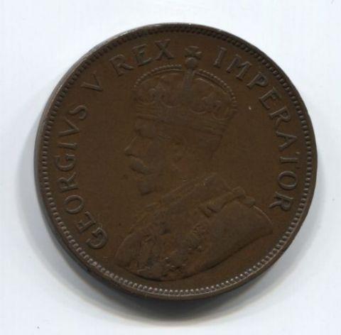 1 пенни 1936 года Южная Африка