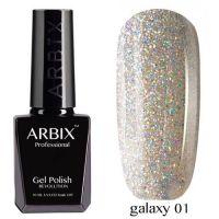 Arbix 001 Galaxy Гель-Лак , 10 мл