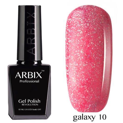 Arbix 010 Galaxy Гель-Лак , 10 мл