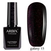 Arbix 015 Galaxy Гель-Лак , 10 мл