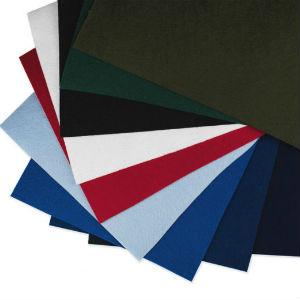 Felt (фетр)  - шевронный материал. Голубой