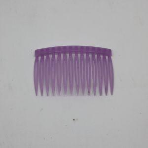 `Гребень для волос, пластик, размер 72*43мм, цвет: сиреневый