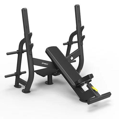 SPIRIT Олимпийская скамья для жима под углом (Olympic incline bench)
