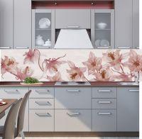 Фартук для кухни - Вальс цветов | интерьерные наклейки