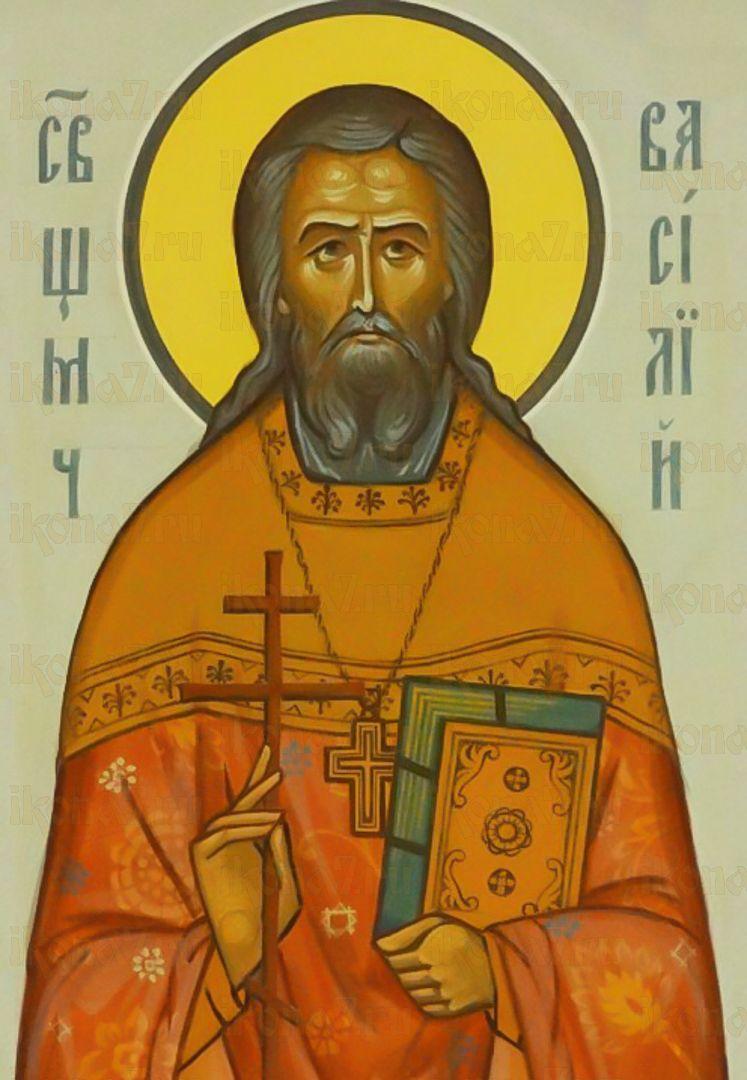 Икона Василий Преображенский священномученик