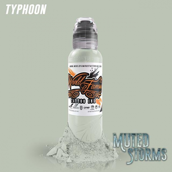 World Famous Ink  Poch's Muted Storms Set - Typhoon