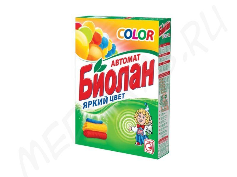 """Стиральный порошок """"Биолан"""" автомат Колор 350 гр"""