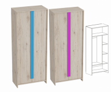 Скаут Шкаф 2х двер комбинированный
