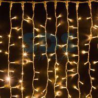 Светодиодная гирлянда Шторка, цвет свечения Белый Теплый