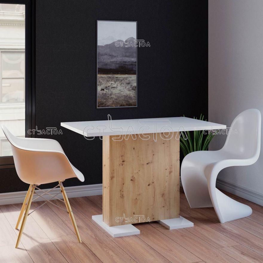 Flow небольшой обеденный стол для кухни в слите модерн Програматика