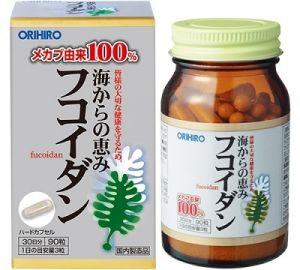 ORIHIRO Фукоидан (Fucoidan) на 30 дней