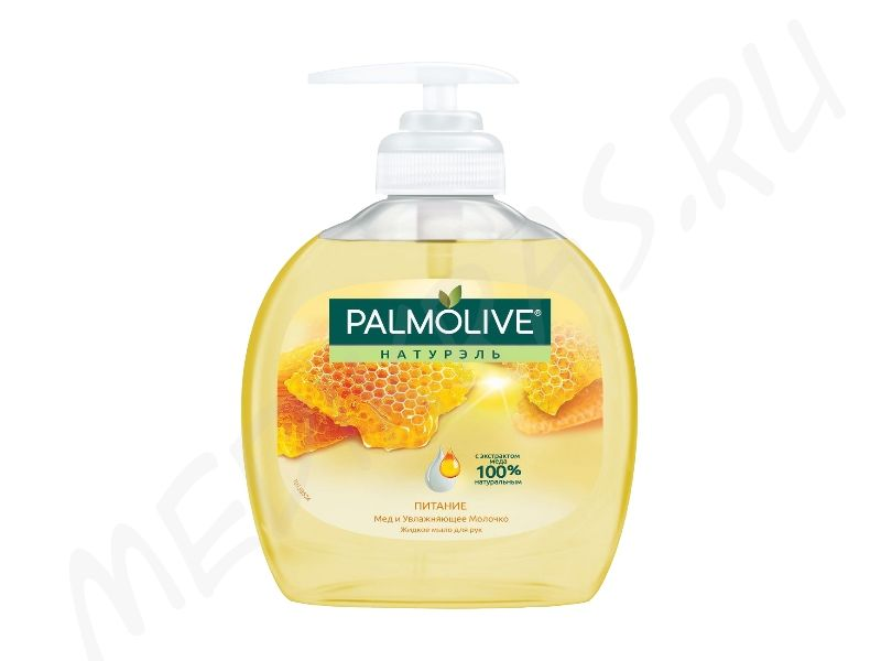 Жидкое мыло Palmolive Молоко и мед с дозатором 300 мл