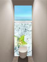 Фотообои в туалет - Карамбола магазин Интерьерные наклейки