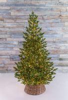 Искусственная елка Тамарак 215 см 2400 ламп зеленая