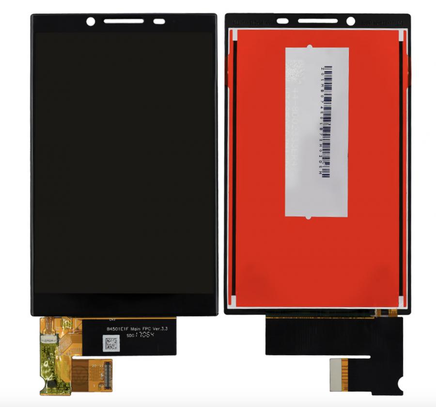 LCD (Дисплей) BlackBerry KEY2 (в сборе с тачскрином) (black) Оригинал