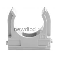 Крепеж-клипса для труб АБС-пластик в карт д25 (100шт/1000шт уп/кор) Промрукав