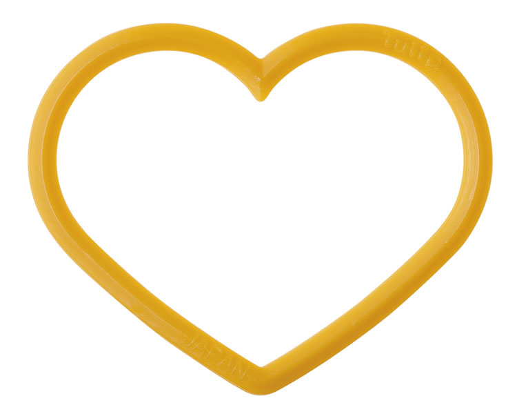"Маркер для вязания ""amicolle"", сердце 3,25*4,5мм"