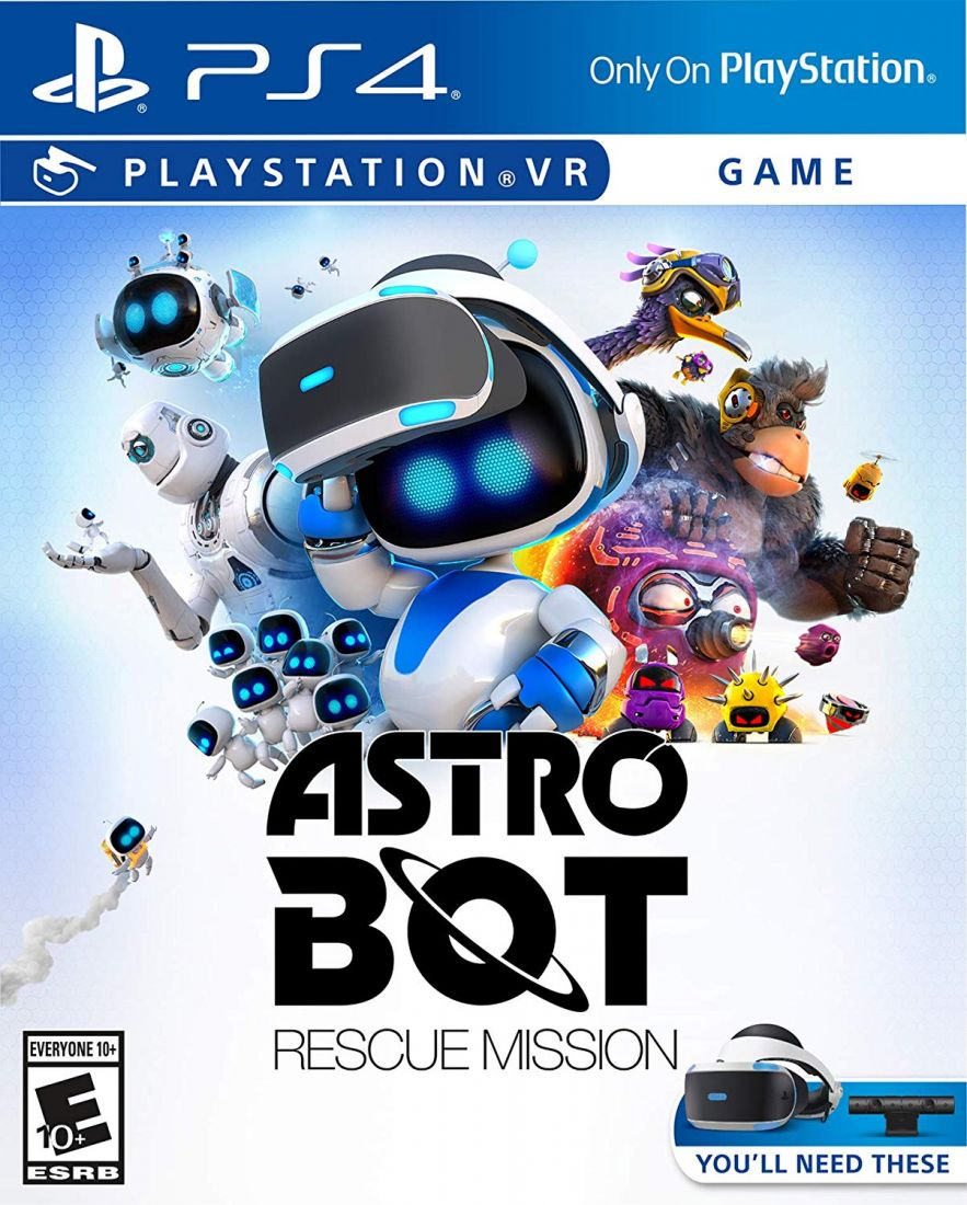 ASTRO BOT Rescue Mission ps4, (код для загрузки)