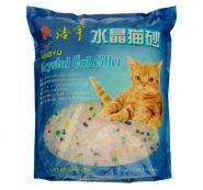 Haoyu Crystal Cat Впитывающий силикагелевый наполнитель (Цветные гранулы) 1,8 кг