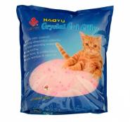 Haoyu Crystal Cat Впитывающий силикагелевый наполнитель (Лаванда) 1,8 кг