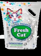 Fresh Cat ® «Кристаллы чистоты» Наполнитель силикагелевый, 5л