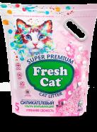 Fresh Cat ® «Утренняя свежесть» Наполнитель силикагелевый, 5л