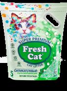 Fresh Cat ® «Летняя прохлада» Наполнитель силикагелевый, 5л