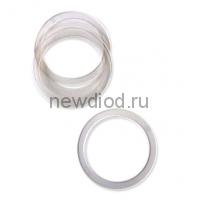 Кольцо протекторное(прозрачное), диаметр 140 (в пачке 50 шт)